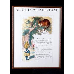 Original Alice and Cheshire Cat by John Tenniel