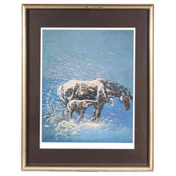 Signed William Rains Limited Edition Framed Print