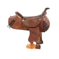 Cowboy Wade A-Fork Salesman Sample Saddle