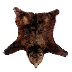 Trophy Alaskan Kodiak Bear Rug MASSIVE