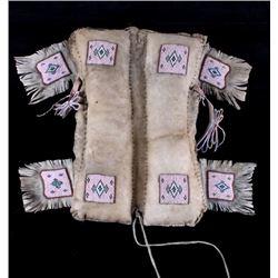 Northern Cree Beaded Hide Pad Saddle