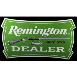 Remington Dealer Firearms Advertising Sign Replica
