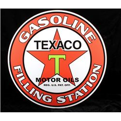 Texaco Motor Oil Advertisement Sign Replica