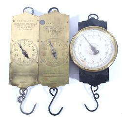 Early 1900's Hanging Spring Balance Scales