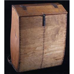 1890 Scandinavian Wooden Backpack