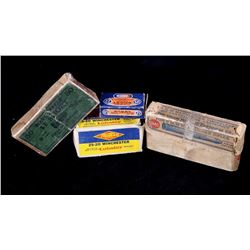 Assorted Collection of Early Rifle Cartridge Boxes