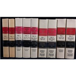 Late 1900's Laws Of Montana Legislature Book Sets