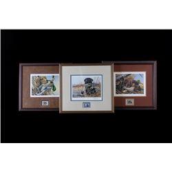 Montana Labrador Framed Prints & Stamp Set