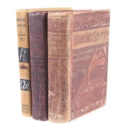 North West Canada & American Books c. 1890s-1900s