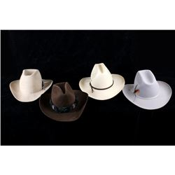 Collection of Stetson & Westerner Cowboy Hats