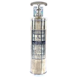 1940's American LaFrance Brass Fire Extinguisher
