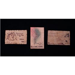 Early Montana Leather Postcard Collection c. 1900s