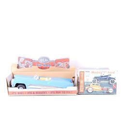 Vintage Model Toy Cars XP-600 & Model T