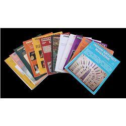 Native American Artifact Magazine Collection