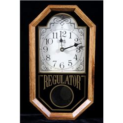 Elgin Clock Co. Regulator Wall Clock