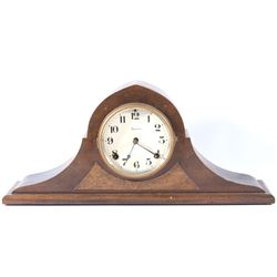 E. Ingraham Walnut Mantle Clock
