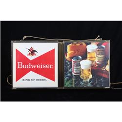 Budweiser King of Beer Advertising Wall Light