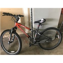 ORANGE/GREY TREK 820 MOUNTAIN BIKE