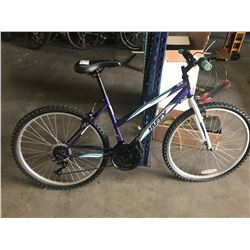 PURPLE HUFFY 26 GRANITE BIKE
