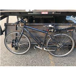BLACK UNKNOWN BICYCLE