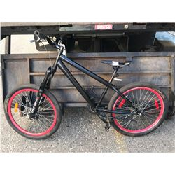 BLACK BMX BIKE (MODEL UNKNOWN)