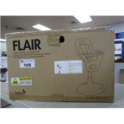 BOON FLAIR PNEUMATIC PEDESTAL HIGH CHAIR