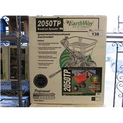 NEW EARTHWAY EV-N-SPRED 2050TP BROADCAST SPREADER