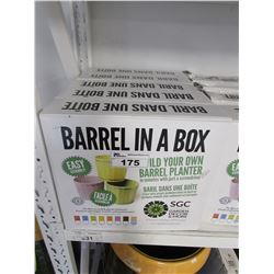 5 NEW BARRELS IN A BOX (EASY ASSEMBLY)