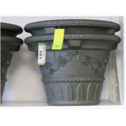 "2 NEW CAST VILAFIORA 23"" PLANTERS"