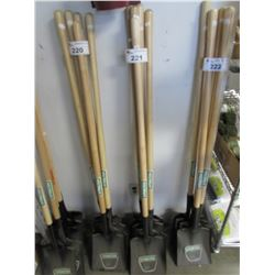 5 NEW PRACTICA RESIDENTIAL WORK SHOVELS