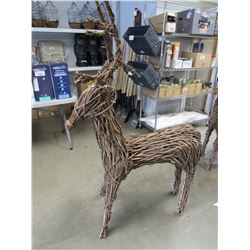 "NEW GARDENSTAR 60"" REINDEER DECORATION (COSMETIC DAMAGED ANTLER)"