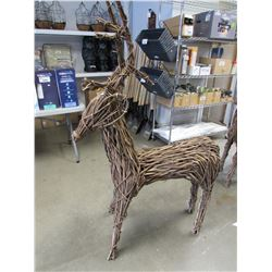 "NEW GARDENSTAR 60"" REINDEER DECORATION"