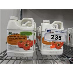 LOT OF NEW BIOPROTEC FUNGICIDE ROSES, BIOPROTEC FUNGICIDE & BACTERICIDE TOMATO AND GARDEN