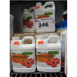 LOT OF NEW BIOPROTEC FUNGICIDE & BACTERICIDE TOMATO AND GARDEN