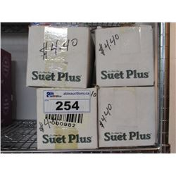4 BOXES OF NEW ASSORTED SUET (APPROX 48 PACKAGES)