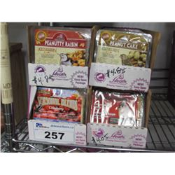 4 BOXES OF NEW ASSORTED HEATH'S SUET (APPROX 48 PACKAGES)