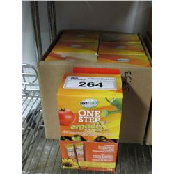 7 BOXES OF NEW FERTICARE ONE STEP ORGANIX 7-3-7 (20 X 12GM PACKS PER BOX)