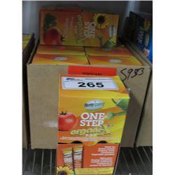 8 BOXES OF NEW FERTICARE ONE STEP ORGANIX 7-3-7 (20 X 12GM PACKS PER BOX)