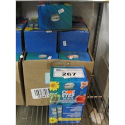 9 BOXES OF NEW FERTICARE ONE STEP ORGANIX 7-3-7 (20 X 12GM PACKS PER BOX)
