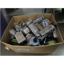 BOX OF SOAPS, CREAM, BATHBOMBS