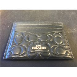 SMALL COACH WALLET (AUTHENTICITY UNKNOWN - RCMP RECOVERED)