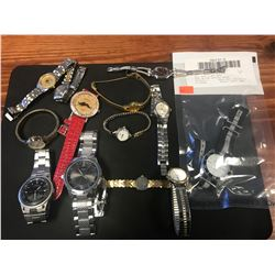 MIXED LOT WATCH COLLECTION - RCMP RECOVERED