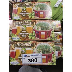3 NEW DUNECRAFT BEER GARDEN KITS