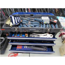 MASTERCRAFT TOOL BOX & CONTENTS