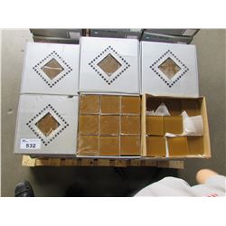PALLET OF CRYSTAL MOSAIC 98X98X8 TILE (34 BOXES)