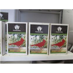 3 NEW GARDENSTAR SELECT COLLECTION WOODPECKER SILHOUETTES