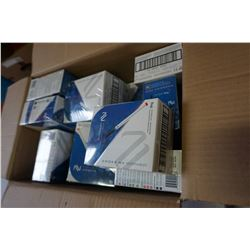 BOX OF DISPOSABLE BLUEBERRY E-CIGARETTES