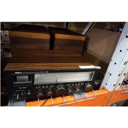 KENTECH TUNER AMPLIFIER X-105 AND PAIR OF GOODMAN ACHROMAT SPEAKERS