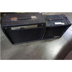 SAMICK GUITAR AMP W/ EXTRA MOUNTED SPEAKER