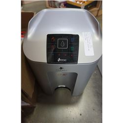 WATER LOGIC HOT AND COLD COUNTER TOP WATER COOLER AND KITCHEN ITEMS